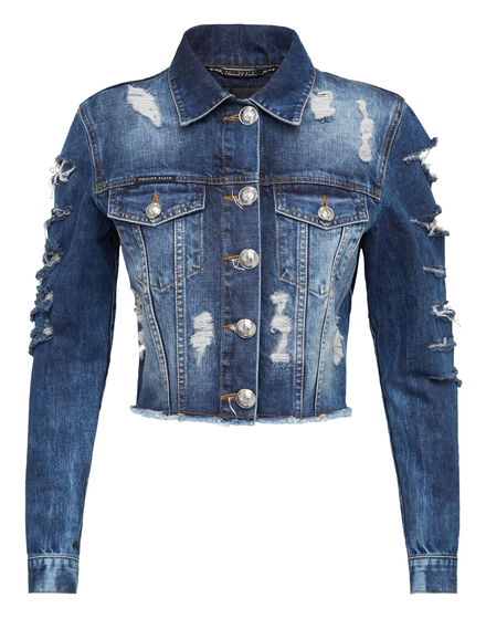 Denim Jacket Destroy
