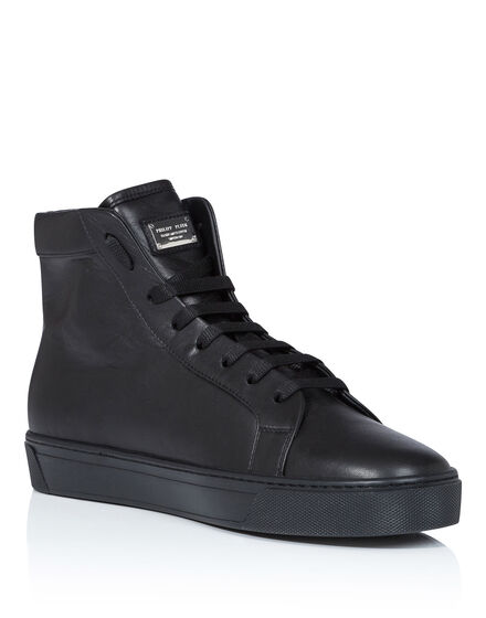 Hi-Top Sneakers Plein military
