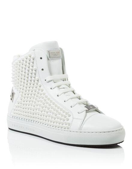Hi-Top Sneakers Man style