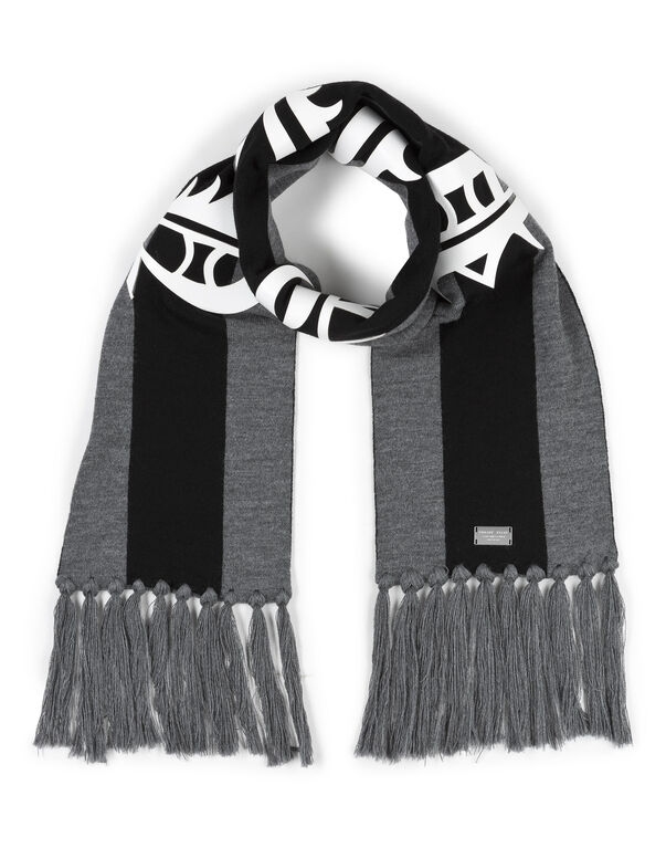 "Long Scarf ""Linear Game"""