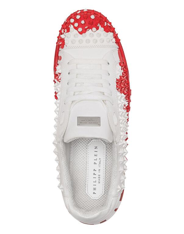 """Lo-Top Sneakers """"Painted"""""""