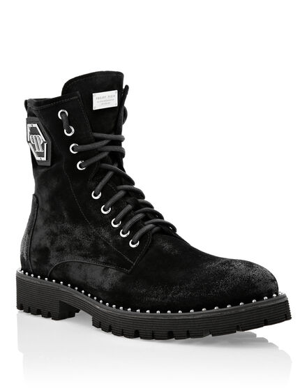 Boots Low Flat Hexagon