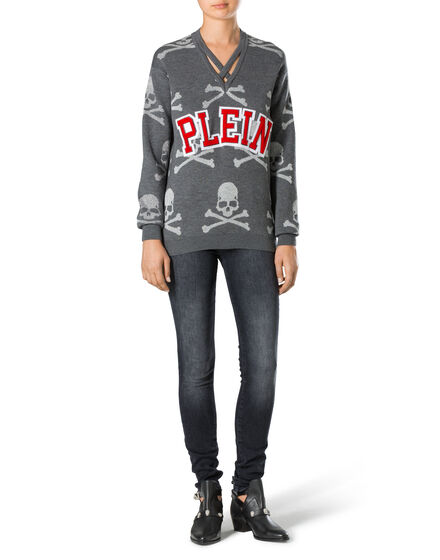 philipp plein knitwear for women online luxury outlet philipp plein outlet. Black Bedroom Furniture Sets. Home Design Ideas