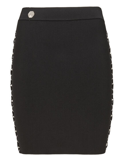 Short Skirt Laced Style