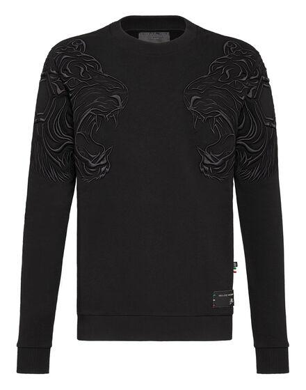 Sweatshirt LS Black space