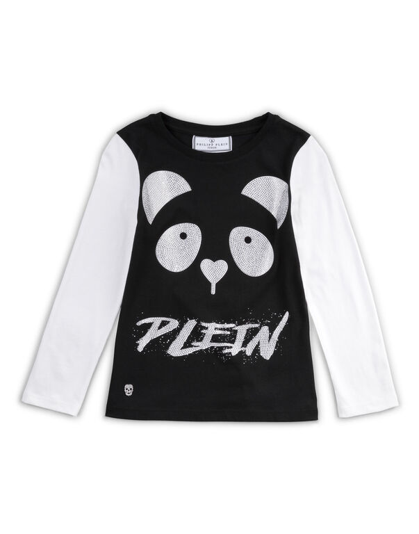"t-shirt short sleeves ""panda"""