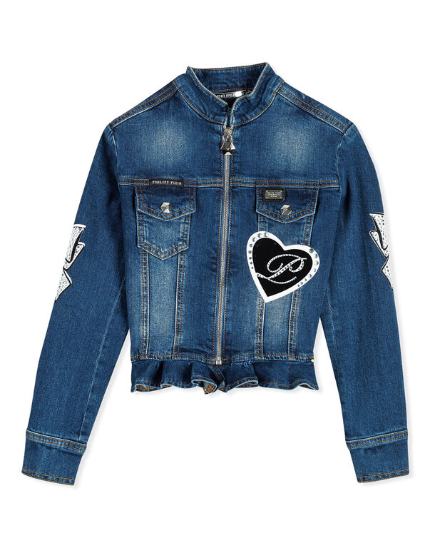 "Denim Jacket ""Girly Mich"""