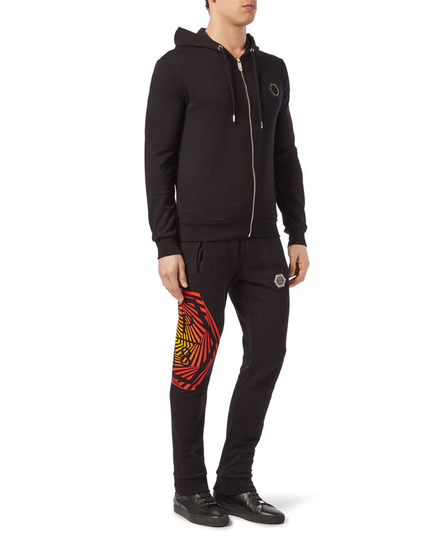 Hoodie Sweatjacket Exagonal