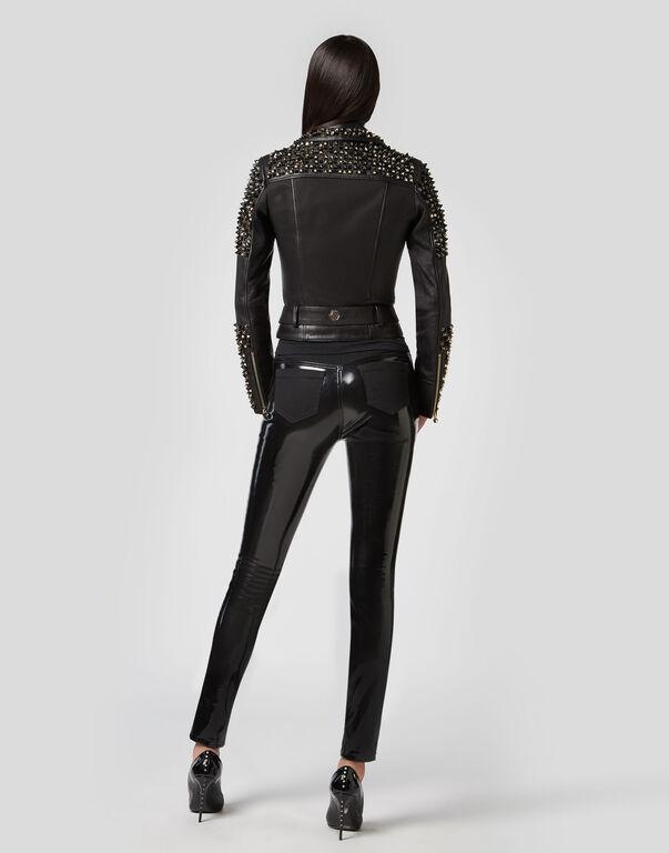 "Leather Biker ""Illumina"" Studs"