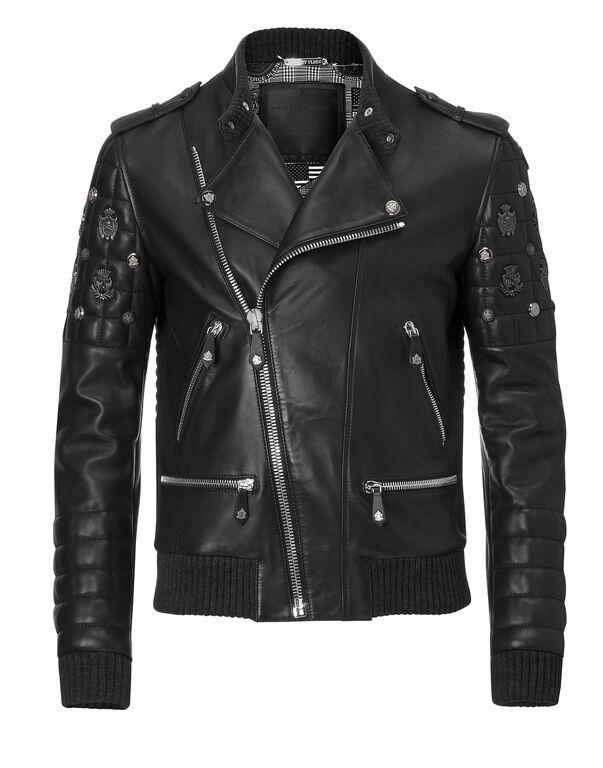 "leather jacket ""like the devil"""