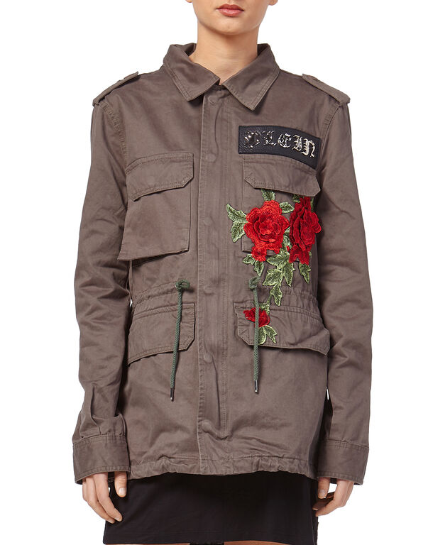 "Denim Jacket ""Coraline Mcyan"""