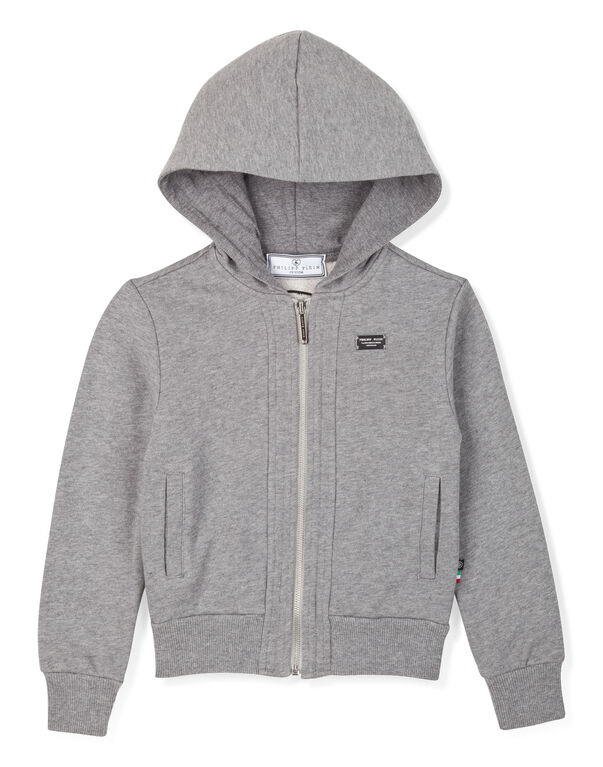 "hooded jacket ""let's play"""