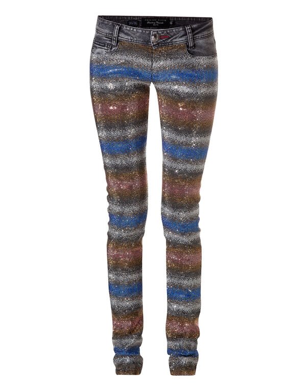 "slim fit denim ""hologram"""