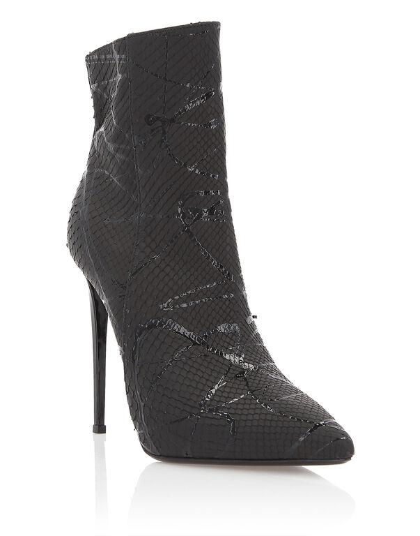 "bootie high heels ""High Python"""