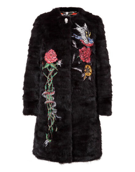 Fur Coat Long Angus