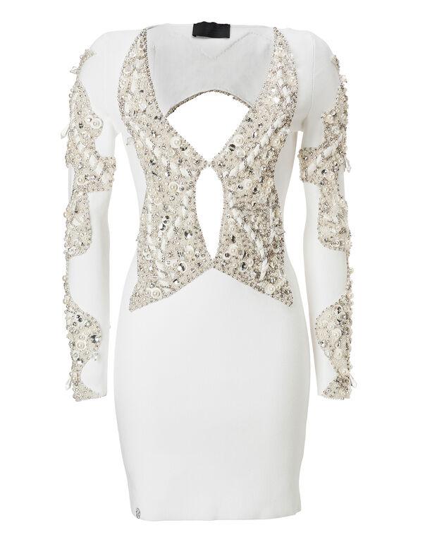 "Knit Evening Dress ""Perlash"""