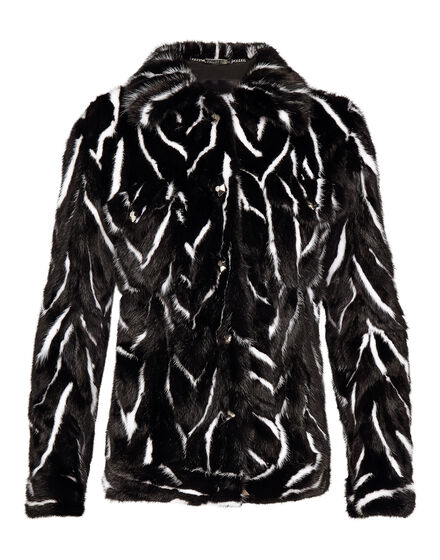 Fur Jacket Black Soul