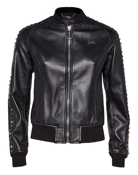 Leather Bomber Flying high