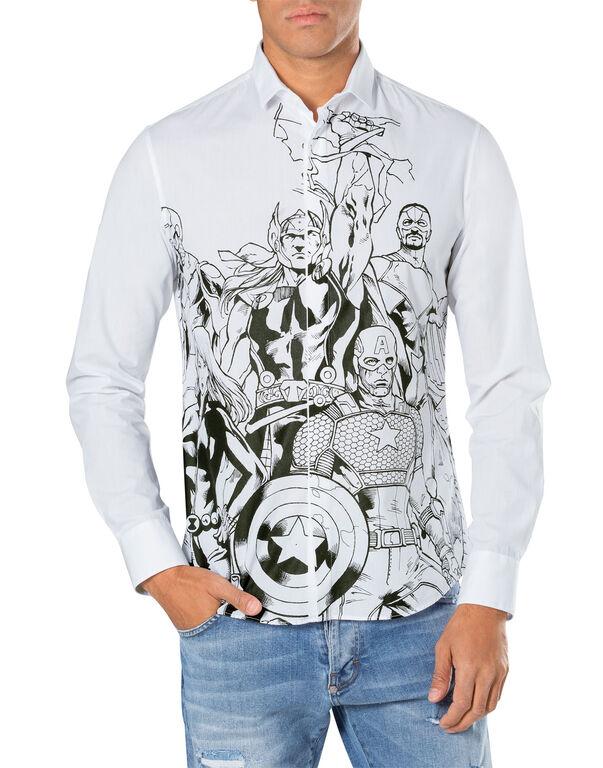 "shirt ""the avengers"""