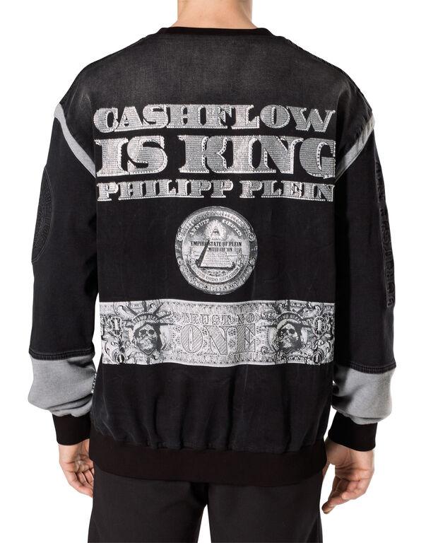 """Denim Sweatshirt """"Bulls"""""""
