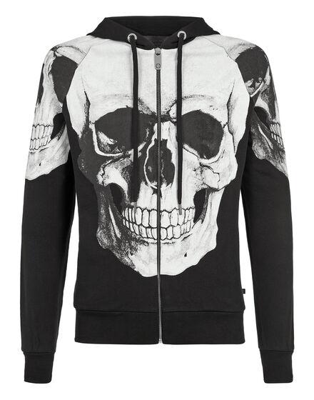 Hoodie Sweatjacket Skulls