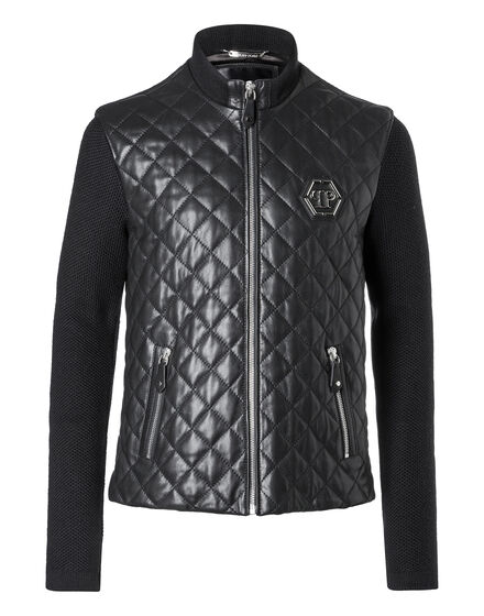Leather Jacket Knitted