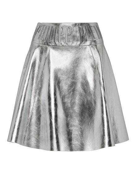 Leather Skirt Short PP1978