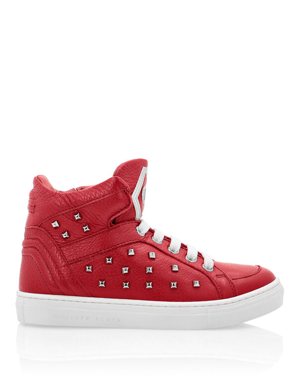 "Hi-Top Sneakers ""Simon"" Studs"
