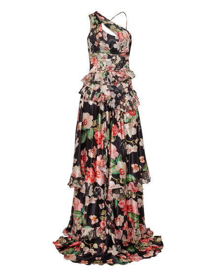 Long Dress Flowers