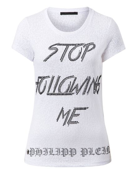 T-shirt Round Neck SS Stop