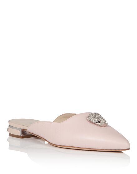 Sandals Flat Summer blue
