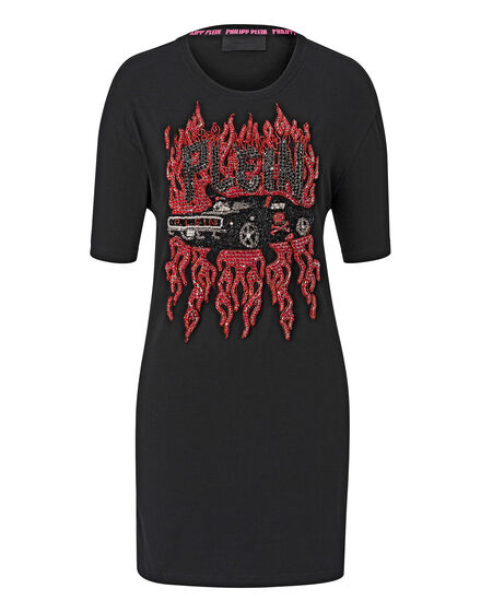 T-shirt Round Neck SS Maghony