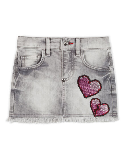 denim skirt show your love
