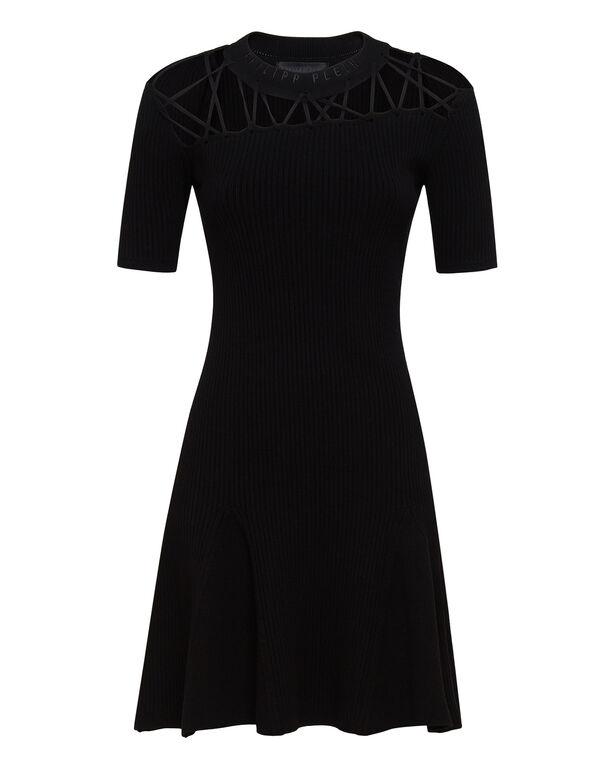 Knit Day Dress Twine