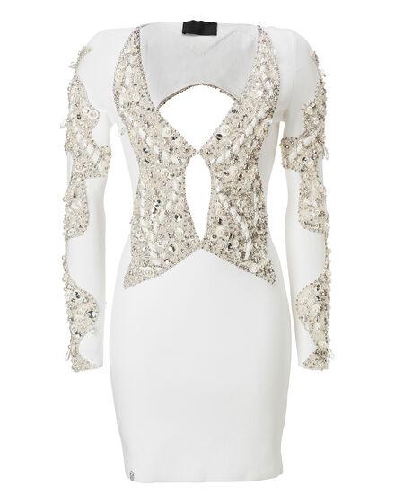 Knit Evening Dress Perlash