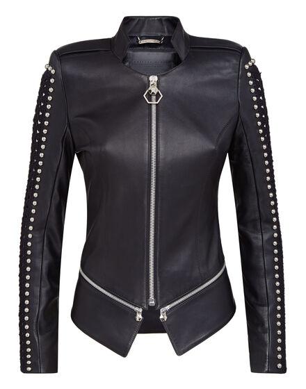 Leather Jacket Studs lines