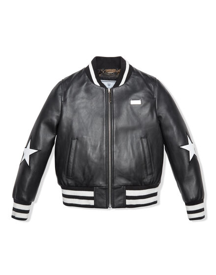 Leather Bomber Stupid Mistake