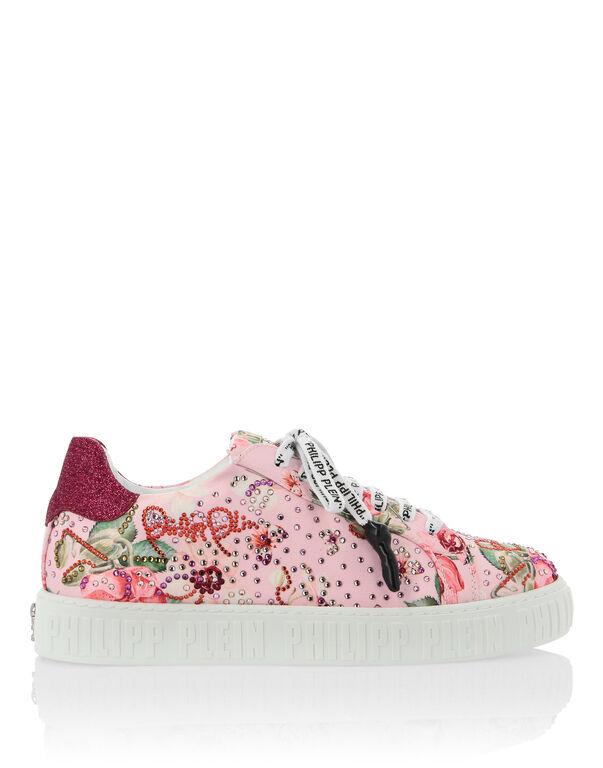 Lo-Top Sneakers Flowers