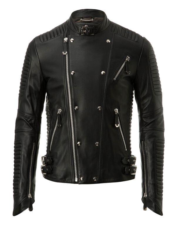 "Leather Jacket ""Artemy"""