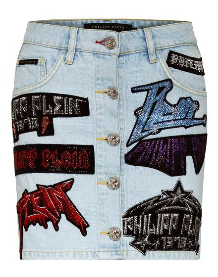 Denim Skirt Rock PP
