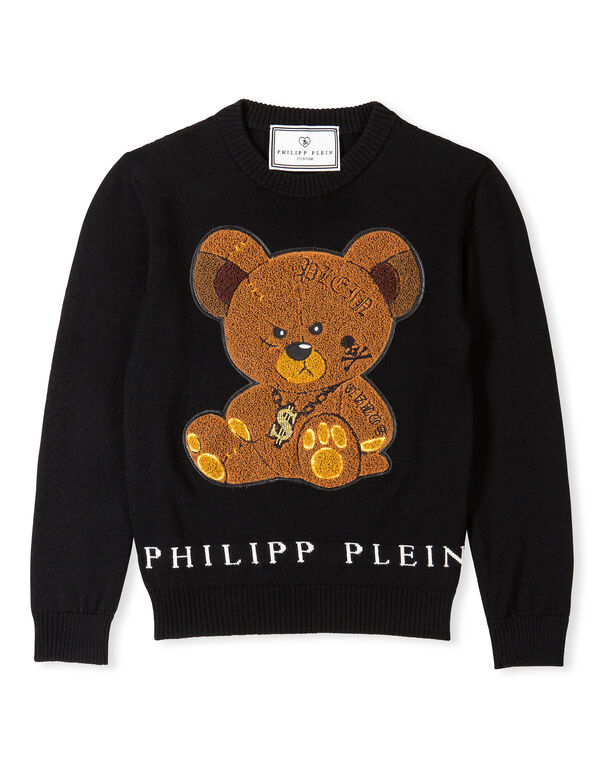 "Pullover Round Neck LS ""Sweet Teddy"""