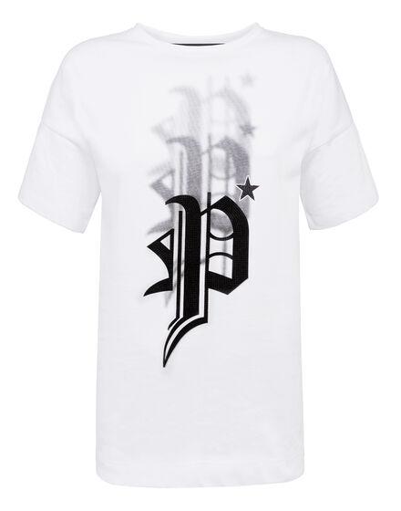 T-shirt Round Neck SS Sprayed