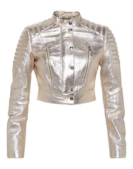 Leather Jacket Hold On