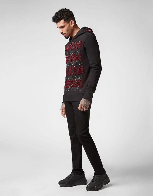 Hoodie sweatshirt Gothic Plein