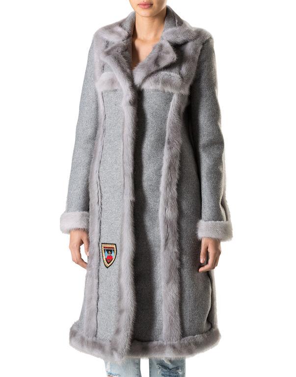 """Coat Long """"Light Cross"""""""