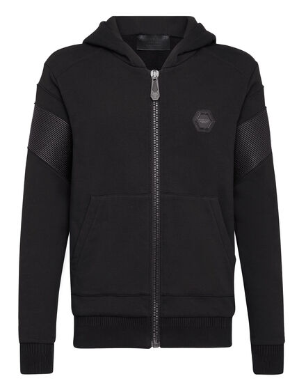 Hoodie Sweatjacket Statement