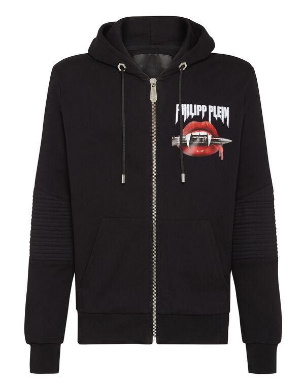 Hoodie Sweatjacket Vampire