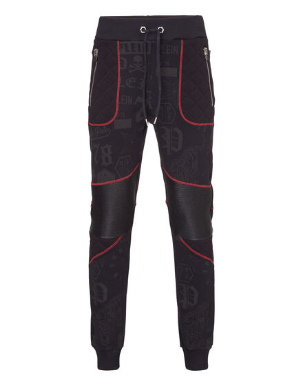 Jogging Trousers Red particular