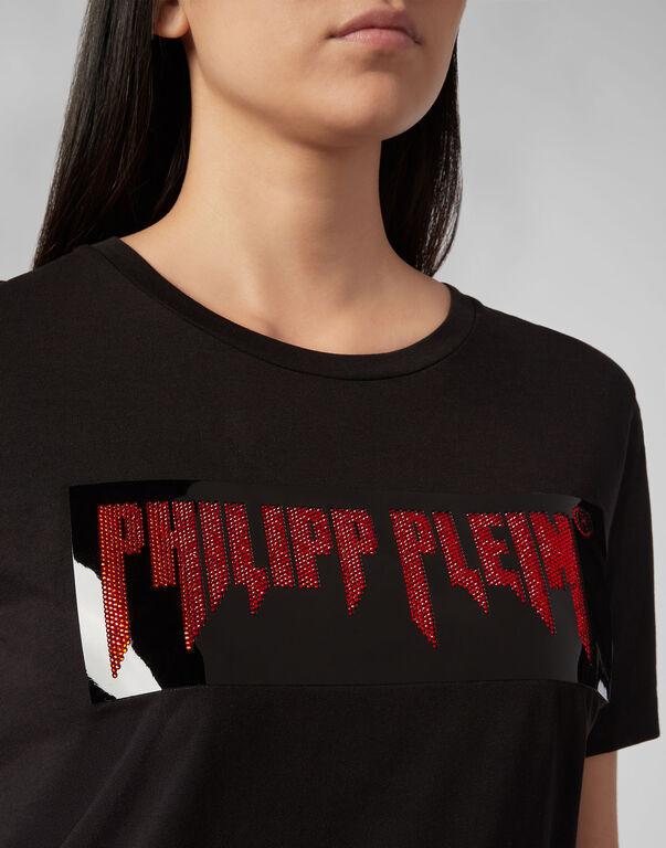 T-shirt Round Neck SS Fringe