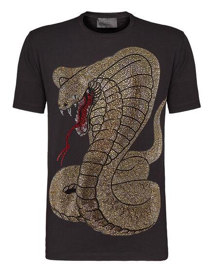 T-shirt Round Neck SS Rich snake